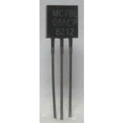 MC78L08ACP  Transistor, 100ma Positive Voltage Regulator