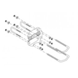 MKPX-2 Mounting Clamps, Kathrein/Scala