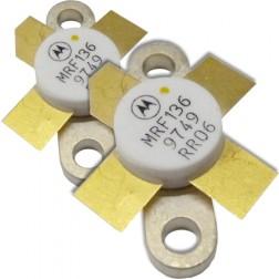 MRF136 Transistor, Matched Pair, 15 watt, 28v, 400 MHz, Motorola