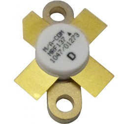 MRF137 Transistor, 30 watt, 28v, 400 MHz, M/A-COM