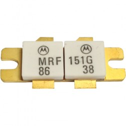 MRF151G RF Power Field-Effect Transistor, 300 W, 50 V, 175 MHz, N-Channel Broadband MOSFET, Motorola