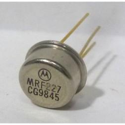 MRF227 NPN Silicon RF Power Transistor, 12.5 V, 225 MHz, 3.0 W, Motorola
