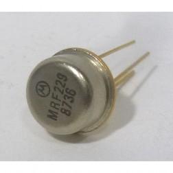MRF229 NPN Silicon Power Transistor, 1.5 W, 90 MHz, 12.5 V, Motorola