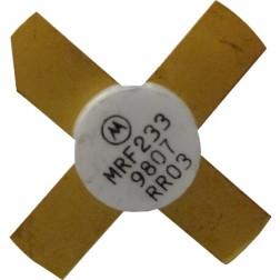 MRF233 NPN Silicon RF Power Transistor, 12.5 V, 90 MHz, 15 W, Motorola