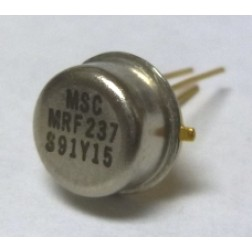 MRF237 NPN Silicon RF Power Transistor, 12.5 V, 90 MHz, 15 W, Microsemi