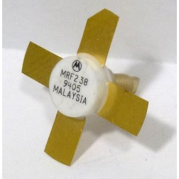 MRF238 NPN Silicon RF Power Transistor, 13.6 V, 175 MHz, 30 W, Motorola