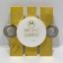 MRF247 Transistor, 175 MHz, 75w, 12.5v, Motorola (NOS)
