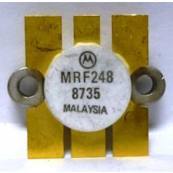 MRF248 NPN Silicon RF Transistor, 12 V, 175 MHz, 80 W, Motorola