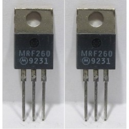 MRF260 NPN Silicon RF Power Transistor, Matched Pair, 12.5 V, 175 MHz, 5.0 W, Motorola