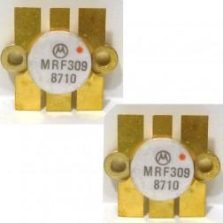 MRF309 Transistor, 28 volt, Matched Pair, Motorola