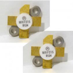 MRF315 Transistor, 28 volt, Matched Pair, Motorola