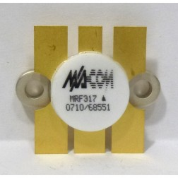 MRF317 NPN Silicon Power Transistor, 100W, 30-200MHz, 28V, M/A-COM
