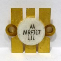MRF317 NPN Silicon Power Transistor, 100W, 30-200MHz, 28V, Motorola