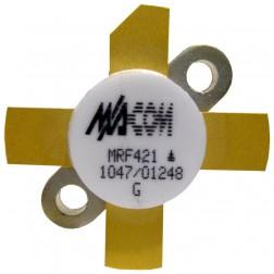 MRF421 NPN Silicon Power Transistor, 100 W (PEP), 30 MHz, 12 V, M/A-COM