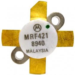 MRF421  MRF421 NPN Silicon Power Transistor, 100 W (PEP), 30 MHz, 12 V, Motorola