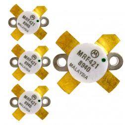 MRF421  NPN Silicon Power Transistor, Matched Quad, 100 W (PEP), 30 MHz, 12 V, Motorola