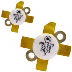 MRF422  NPN Silicon Power Transistor, 150 W (PEP), 30 MHz, 28 V, Low Beta, Matched pair,  Motorola