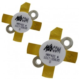 MRF422 NPN Silicon Power Transistor, Matched Pair, 150 W (PEP), 30 MHz, 28 V, M/A-COM
