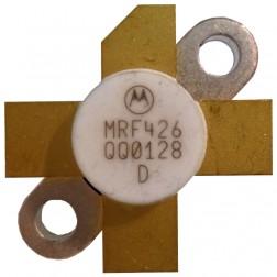 MRF426  NPN Silicon Power Transistor, 25 W (PEP), 30 MHz, 28 V, Motorola