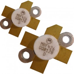 MRF426  NPN Silicon Power Transistor, Matched Pair, 25 W (PEP), 30 MHz, 28 V, Motorola