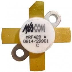 MRF428 NPN Silicon Power Transistor, 150 W (PEP), 30 MHz, 50 V, M/A-COM