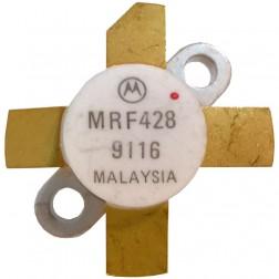 MRF428 NPN Silicon Power Transistor, 150 W (PEP), 30 MHz, 50 V, Motorola