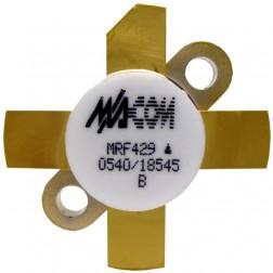 MRF429  NPN Silicon Power Transistor, 150 W (PEP), 30 MHz, 50 V, M/A-COM