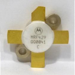 MRF429  NPN Silicon Power Transistor, 150 W (PEP), 30 MHz, 50 V, Motorola