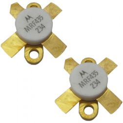MRF435 NPN Silicon RF Power Transistor, 28 V, 30 MHz, 150 W, Matched Pair, Motorola