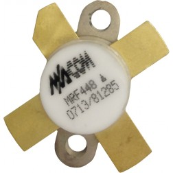 MRF448  NPN Silicon Power Transistor, 250 W, 30 MHz, 50 V, M/A-COM