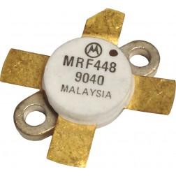 MRF448  NPN Silicon Power Transistor, 250 W, 30 MHz, 50 V, Motorola