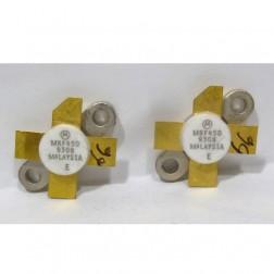 MRF450  NPN Silicon Power Transistor, Matched Pair, 50 W, 30 MHz, 12.5 V, Motorola