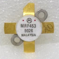 MRF453 NPN Silicon Power Transistor, 60 W, 30 MHz, 12.5 V, Motorola