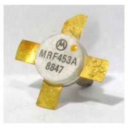 MRF453A NPN Silicon Power Transistor, Stud Mount, 60 W, 30 MHz, 12.5 V, Motorola