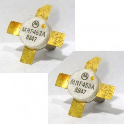 MRF453A Transistor, 12 volt, mpair