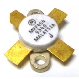 MRF454  NPN Silicon Power Transistor, 80W, 30MHz, 12.5V, Motorola