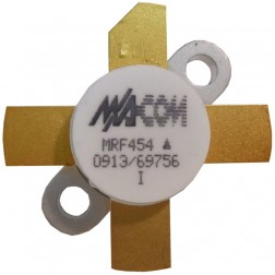 MRF454  NPN Silicon Power Transistor, 80W, 30MHz, 12.5V, M/A-COM