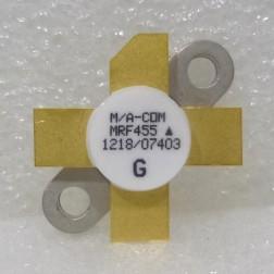 MRF455  NPN Silicon Power Transistor, 60 W, 30 MHz, 12.5 V, M/A-COM