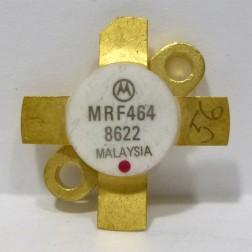 MRF464 NPN Silicon RF Power Transistor, 30 MHz, 80 W (PEP), 28 V, Motorola