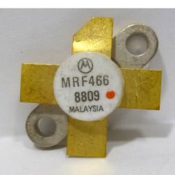 MRF466 NPN Silicon Power Transistor, 40 W (PEP or CW), 30 MHz, 28 V, Motorola