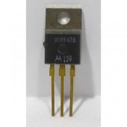 MRF476 NPN Silicon Power Transistor, 3.0 W, 50 MHz, 12.5 V, Motorola