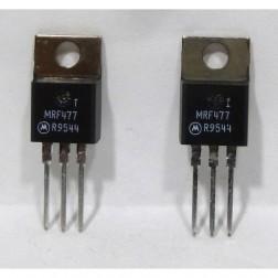MRF477 NPN Silicon Power Transistor, Matched Pair, 3.0 W, 50 MHz, 12.5 V, Motorola