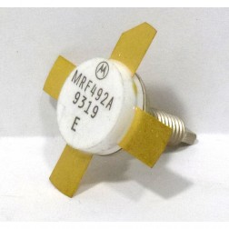 MRF492A NPN Silicon RF Power Transistor, Matched Quad, Stud Mount, 50 MHz, 70 W, 12.5 V, Motorola