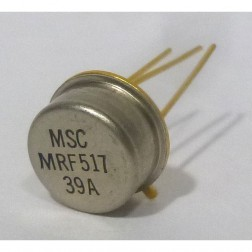MRF517 NPN Silicon RF and Microwave Discrete Low Power Transistor, Microsemi