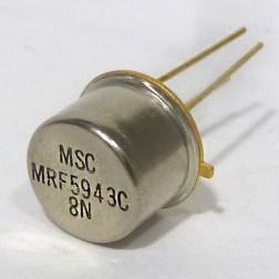 MRF5943C RF & Microwave Discrete Low Power Transistor, Microsem