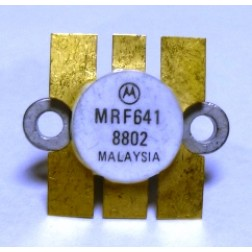 MRF641 Motorola NPN Silicon RF Power Transistor 12.5 V 470 MHz 15 W  Matched Pair (2) (NOS)