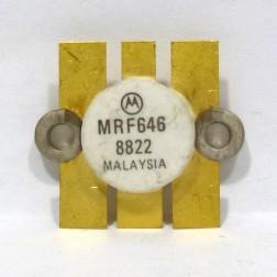 MRF646 NPN Silicon RF Power Transistor, 12.5 V, 470 MHz, 45 W, Motorola