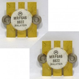 MRF646 NPN Silicon RF Power Transistor, 12.5 V, 470 MHz, 45 W, Matched Pair, Motorola