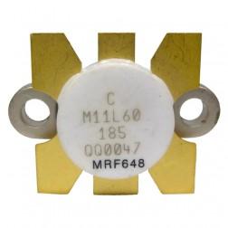 MRF648 NPN Silicon RF Power Transistor, (M11L60) 12.5 V, 470 MHz, 60 W, Motorola