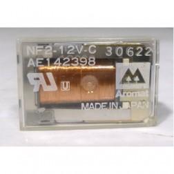 NF2-12V Relay, DPDT, PCB Mount, Aromat